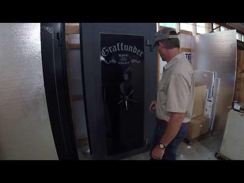 SOLID STEEL GRAFFUNDER VAULT DOOR