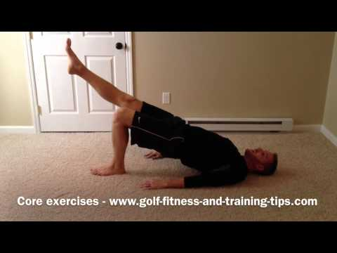 Core Exercises For Golf