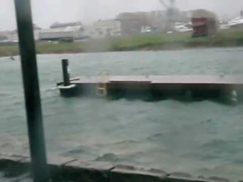 Hurricane Sandy, Red Hook, Brooklyn