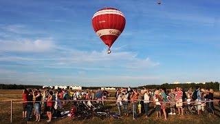 70 паветраных шароў накрылі Мінск/ Beautiful balloons over Minsk