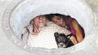Влюбленные провели 22 года в канализационной трубе!!!