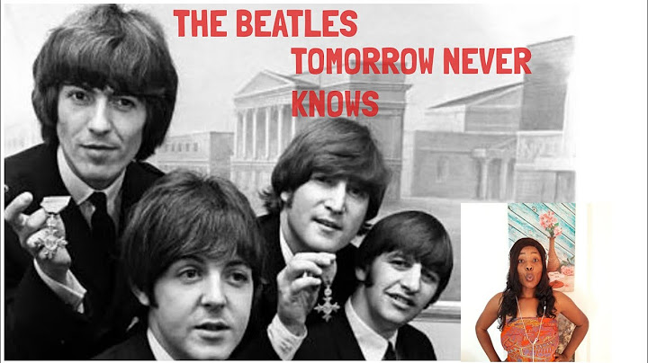beatles  tomorrow never knows  reaction video