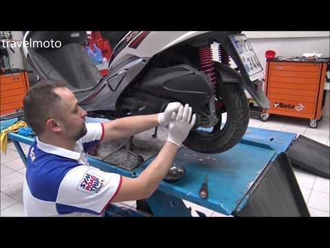 Kick start repair: Sym 150cc scooter engine