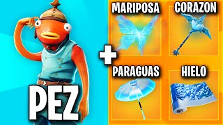 THE BEST SKIN COMBINATIONS WITH FISH PALITO 🧡 THE BEST FORTNITE SKIN COMBOS