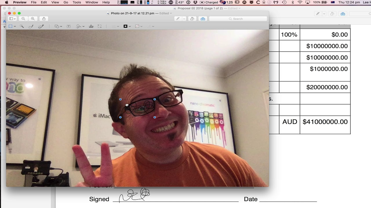 how to add signiture to outlook on mac