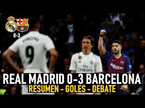REAL MADRID 0-3 BARCELONA ● SUÁREZ ELIMINA A UN MADRID SIN GOL ● RESUMEN - GOLES Y DEBATE ● COPA