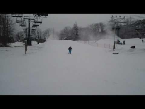Michael Dong ski jumping