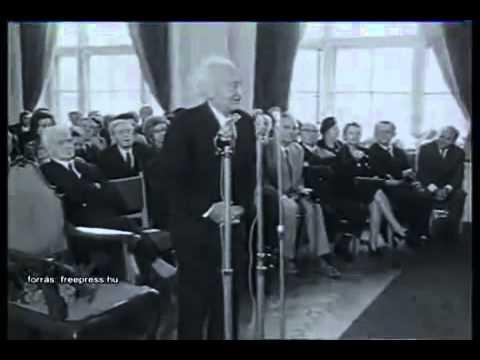 Szent-Györgyi Albert beszéde