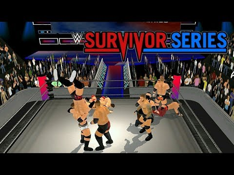 Raw Vs Smackdown 10 Man Battle Royal - Wrestling Revolution 3D