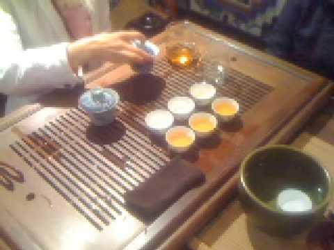 Chengdu - Kung-Fu Tea Tasting