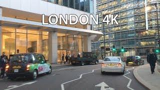 London 4K - Canary Wharf Drive