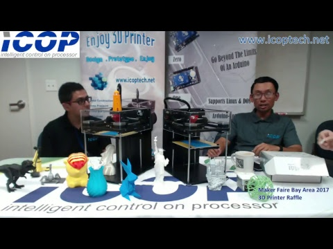 ICOP Technology Inc - Maker Faire Bay Area 2017 Giveaway