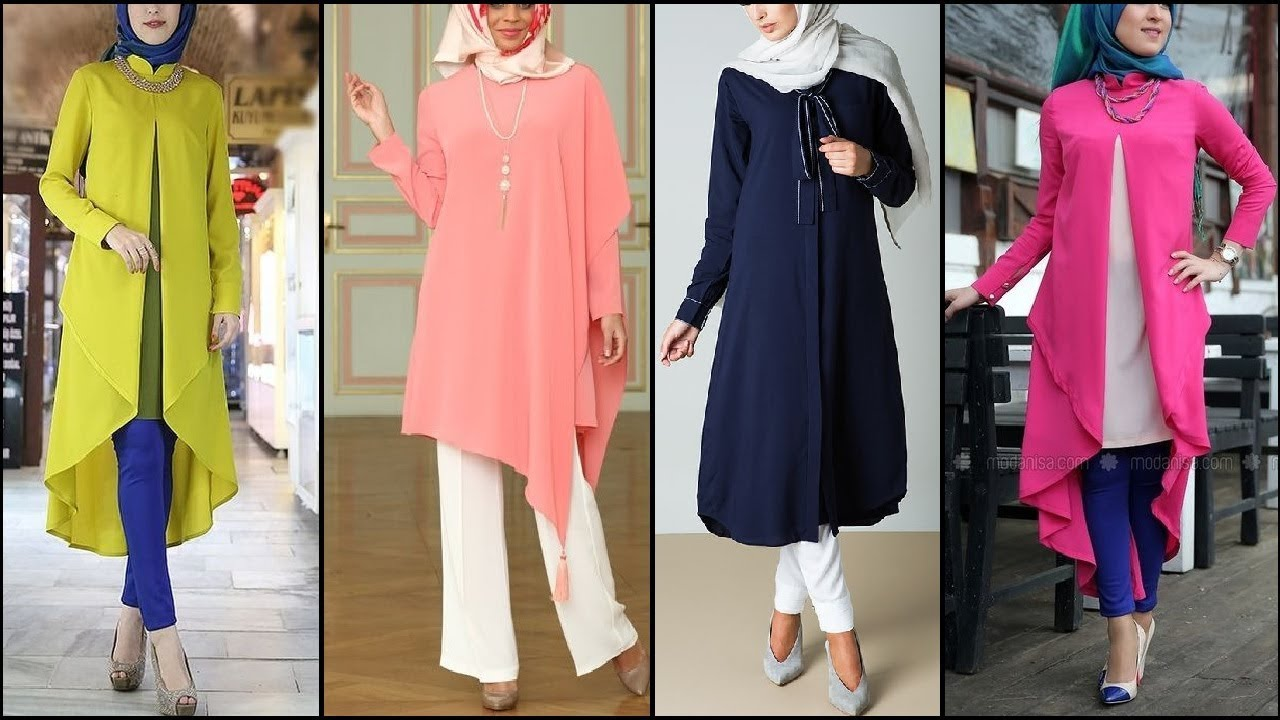 Latest High Class Shirt Dresses Modest Fashion Style Guide Hijab Fashion Youtube