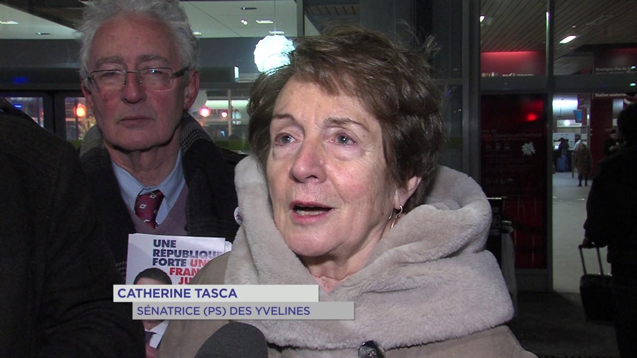 Primaire de la gauche : La sénatrice C. Tasca derrière M. Valls