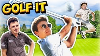 LE MEILLEUR GOLFEUR ? | Golf It (ft. Siphano & Superbrioche)