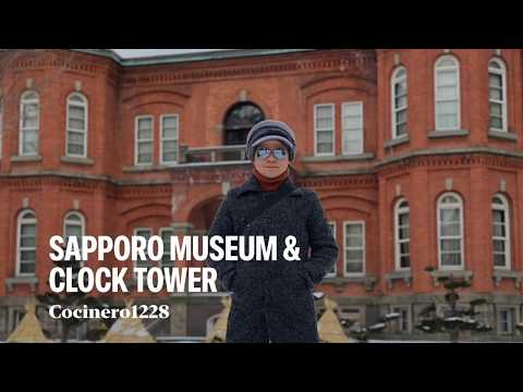 Sapporo Museum | Old Government Building Office | Clock Tower