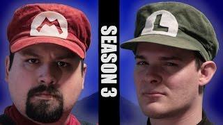 """Stupid Mario Brothers - Sneak Peak/Bloopers of """"Legacy"""" Part 1"""