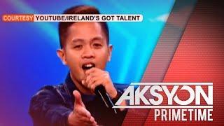 Pinoy nurse na utal-utal magsalita, nagpahanga sa Ireland's Got Talent auditions