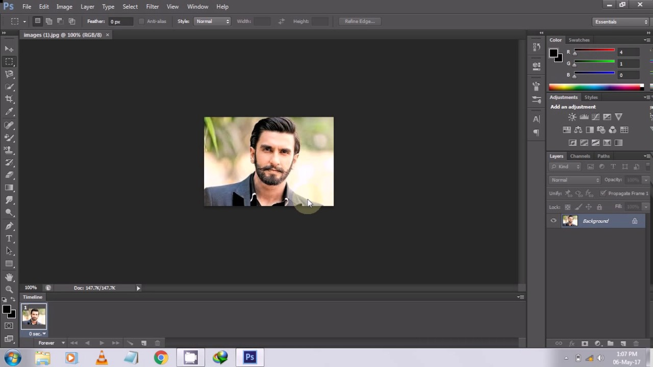 Photoshop CS6/CC: How To Cut Out an Image & Remove/Delete a Background