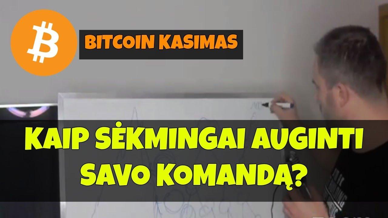 kaip auginti bitcoin