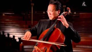Yo-Yo Ma - Bach Cello Suite N°.2  -  Sarabande (HD)