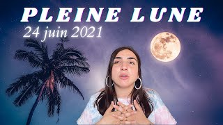 Transformation importante ! ⚡️ PLEINE LUNE EN CAPRICORNE 🐐 24 JUIN 2021