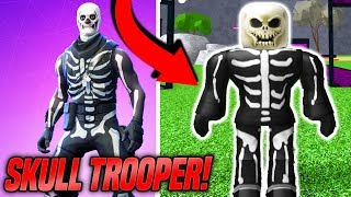 Roblox Making Fortnite Skull Trooper An Account