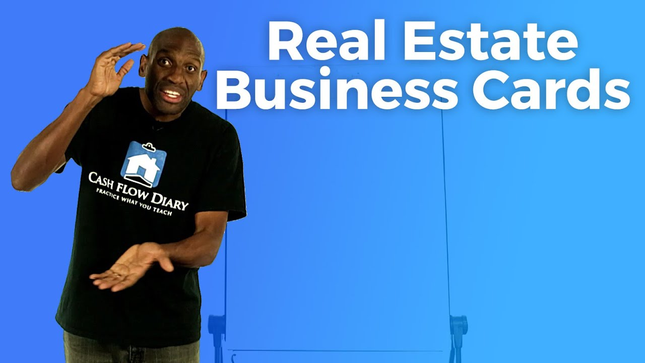 Real estate business cards youtube colourmoves