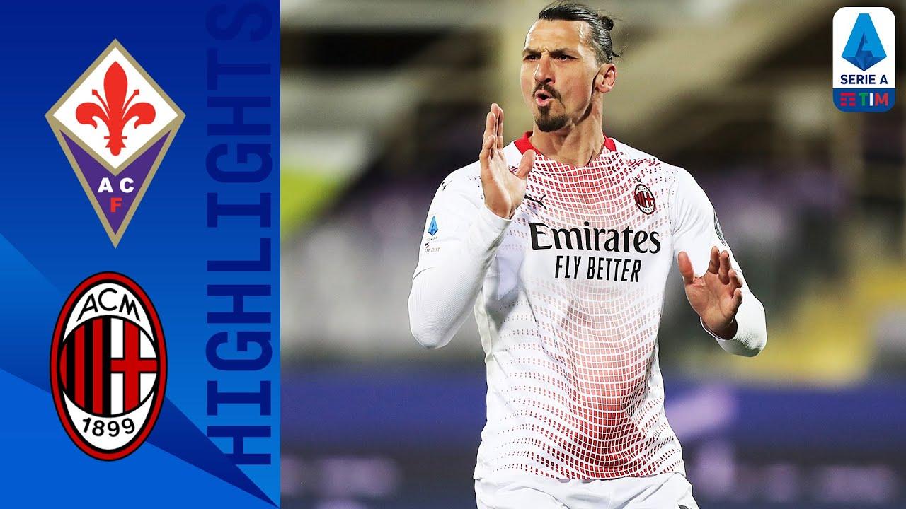 Fiorentina 2-3 Milan | Ibrahimovic Scores His 15th Goal This Season | Serie A TIM