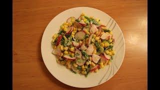 Салат быстрого приготовления.