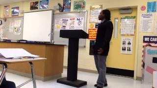 Political Rap in school