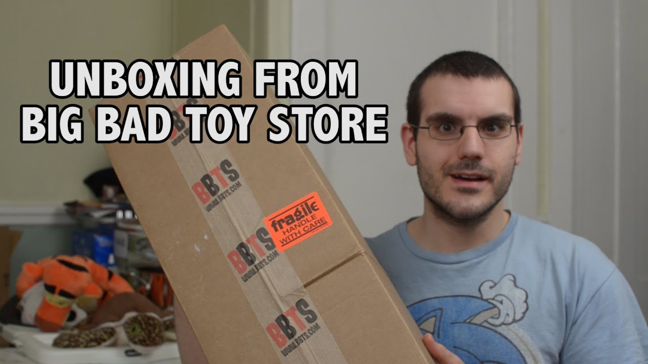 Big Bad Toy Store Unboxing - YouTube