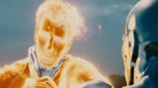 Человек-факел и Серебрянный Серфер. Фантастическая четвёрка: Вторжение Серебряного Cёрфера (2007)