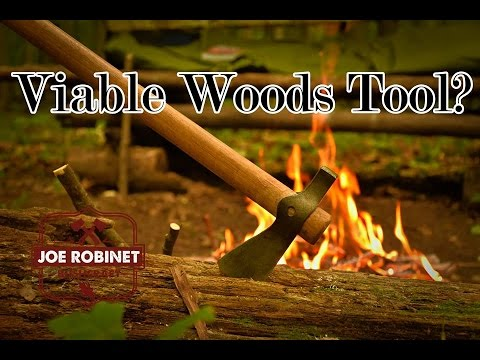 The Bushcraft Campout: Is a Tomahawk a Viable Wood Processing Tool?