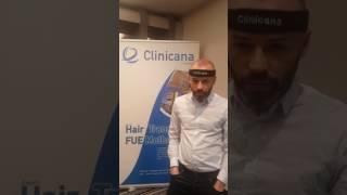 Greffe de cheveux témoignage d'un patient venant de France | Clinicana