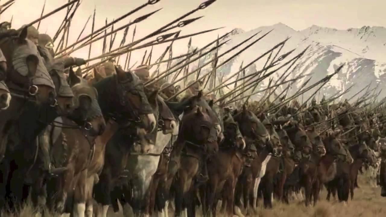 Image result for battle of pelennor fields