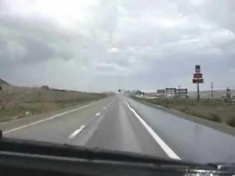 Driving East I-80 82 Toyota 4x4
