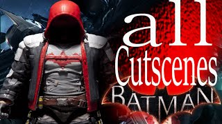 Batman Arkham Knight Red Hood Story (DLC) All Cutscenes