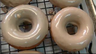 Maple  Glazed Baked Pumpkin Donuts Recipe ~ Noreen's Kitchen