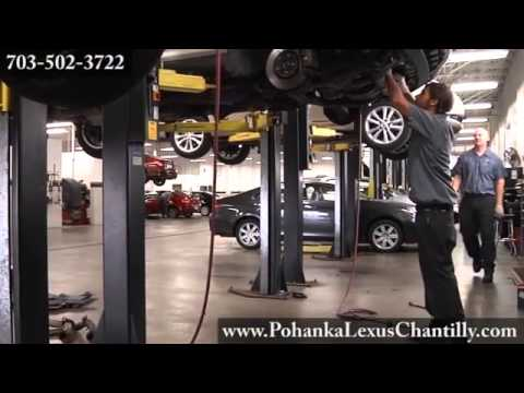 Lexus Maintenance Auto Mechanic Car Repair Shop Chantilly VA Washington DC MD