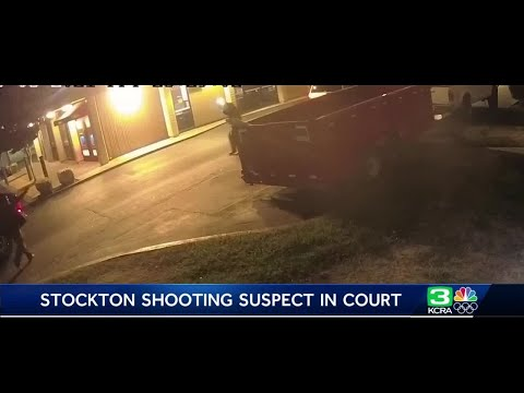 Suspect charged with hate crime after shooting man 7 times in Stockton appears in court