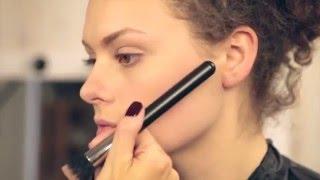 Моделируем лицо с помощью макияжа  Урок от визажиста #2