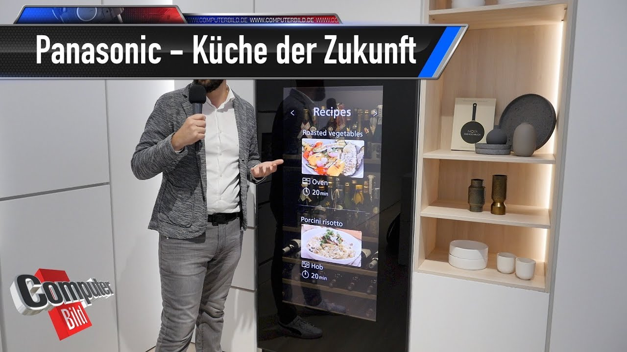 panasonic die k che der zukunft auf der ifa youtube. Black Bedroom Furniture Sets. Home Design Ideas