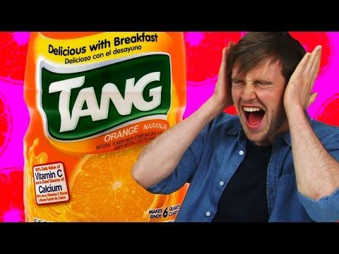 Irish People Taste Test American Tang