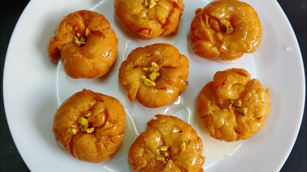 தீபாவளி பாதுஷா    Badusha recipe in Tamil