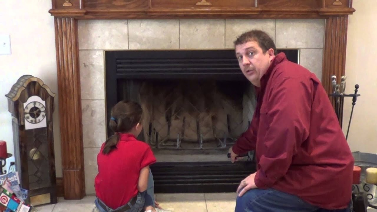 How to Inspect Your Fireplace - YouTube