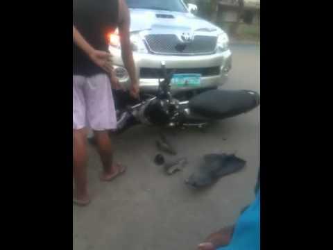 Accident mabini mapa davao city, philliipines
