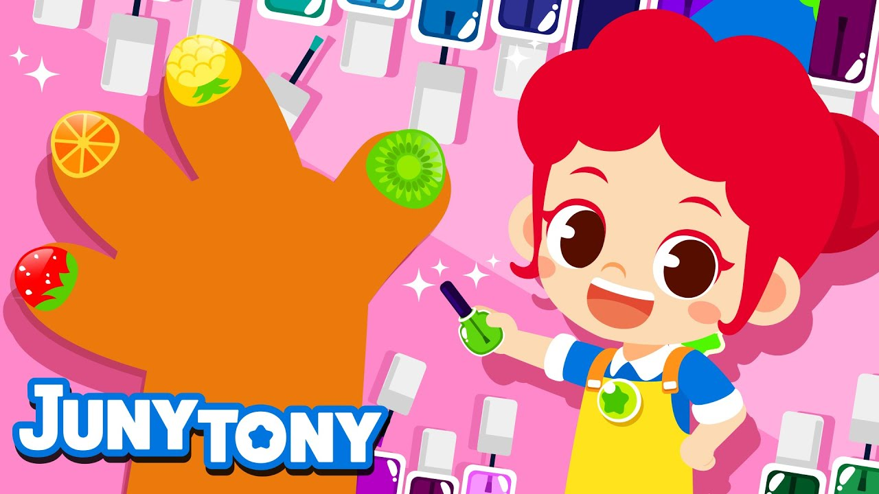 Nail Technician | Job & Occupation Song for Kids | Kindergarten Song | JunyTony