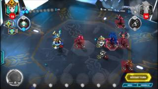 Duelyst Solo Challenge 6 - 4 Vetruvian Relics Reclaimed