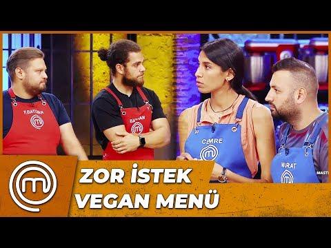 Ödül Oyunu'nda Vegan Menü | MasterChef Türkiye 13.Bölüm